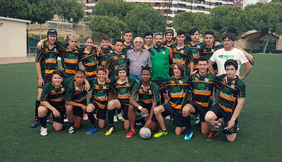 Club de rugby en mallorca Shamrock academia