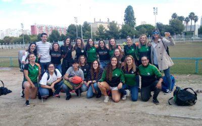 Crónica del primer partido del Shamrock  Femenino en su debut en la Liga Catalana