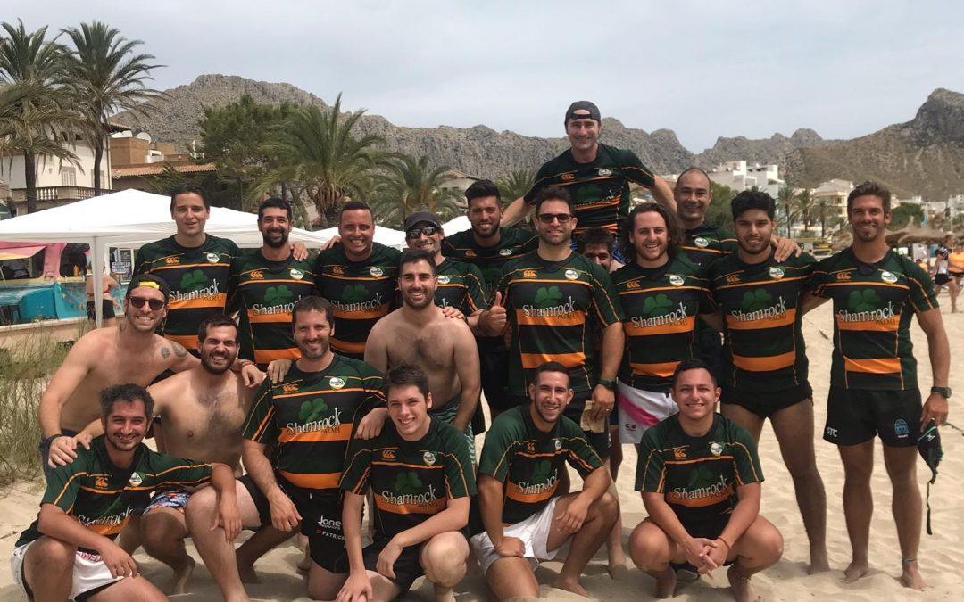 El equipo Senior Masculino del Shamrock se alza con la copa Dragut 2019