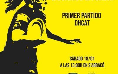 Primer partido División de Honor Catalana Femenino