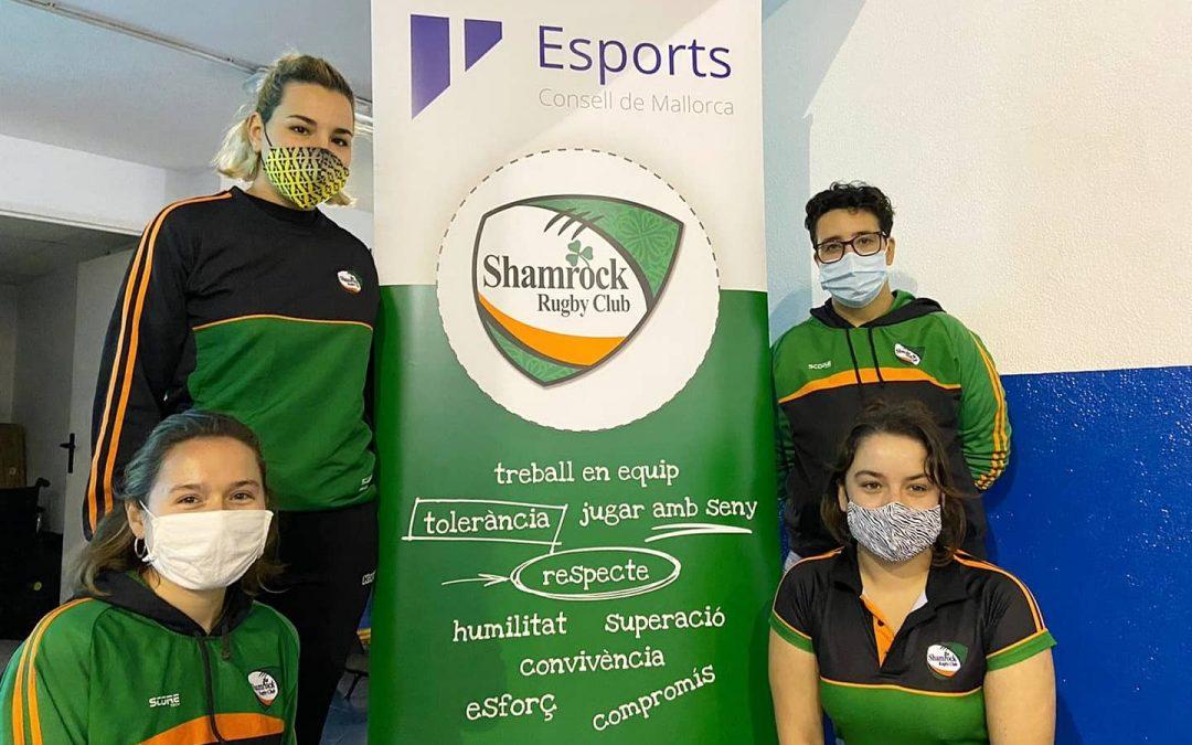 Shamrock en el Día Internacional de la Eliminación de la Violencia contra la Mujer♀️